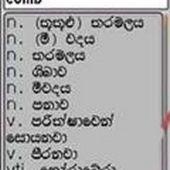 1st English Sinhala Dictionary