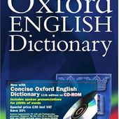 Concise Oxford English Dictionary (11th version)
