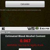 Blood Alcohol Content Calc
