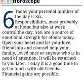 NumberHoroscopes