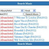 Search and Download BOLLYWOOD Music