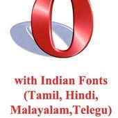 opera with tamil, malayalam, telugu, hin