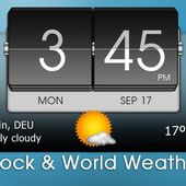 3D Flip Clock  World Weather v0.
