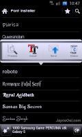برنامه تغییر فونت موبایل