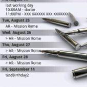 Pure calendar widget LITE