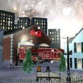 Coca-Cola Holiday Live Wallpaper for And