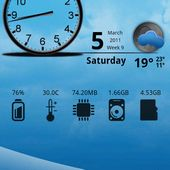 Rover Blue Theme for Android