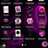 Melody Purple Theme for Android