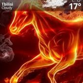 Fired Horse Live Wallpaper