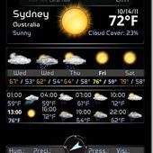 Weather Flip Clock