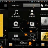 Walkman Music Black Color