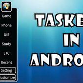 TaskBar In Android