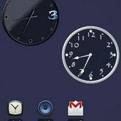 Custom Clock Widget