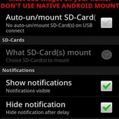 Multi-Mount SD-Card