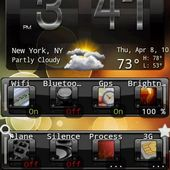 Weather & Toggle Widget