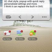 GO SMS Widget
