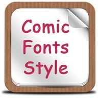 Comic Fonts Style