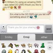GO SMS Emoji 1.3