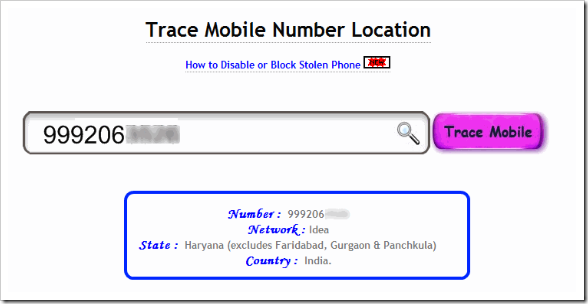 mobile no tracker