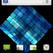 Blue Cubes Live Wallpaper