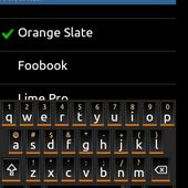 smart keyboard pro theme black orange