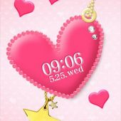 Pink Heart Live Wallpaper