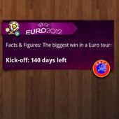 Euro 2012 Countdown Widget