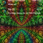 GO SMS PRO THEME Magic Mosaic