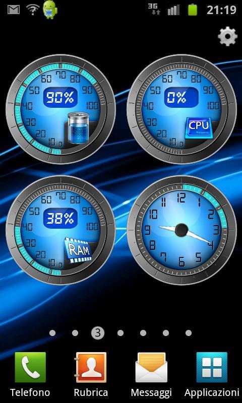 Виджеты Android Часы Погода Батарея Обои