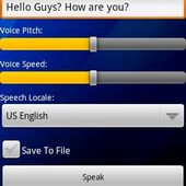 Text to Speech for Android 2.2
