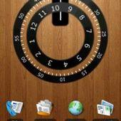 tedzkeletal large clock widget