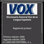 Diccionario android general vox