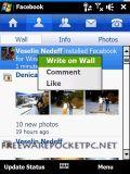 Nokia Facebook App.