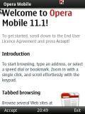 Opera Mobile v11.01 Update: 30.06.11