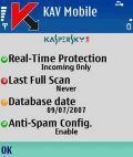 Kaspersky Anti Virus Mobile v. 6.0.80