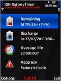 Capree ION BatteryTimer v1.04 S60v3 S60