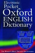 OXFORD Concise English Dictionary