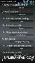 Battery Power Saving v3.01(0) S60v5 Symbian3 Anna Belle