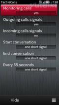TactileCalls v1.2 S60v3 S60v5 Symbian3 Anna Belle