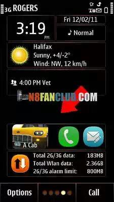 PHONEKY - Most Downloaded Symbian Anna Widget App Download