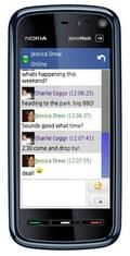 Facebook chat client