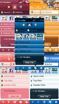 UC Browser 7 Series Skin Pack 1