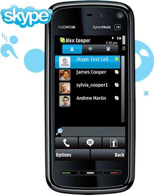 برنامج Skype لجوالات نوكيا
