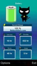 Battery Life Widget Software