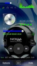 PowerMP3 SKIN BLUE LOGO UPDATED WITH 3 T