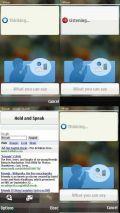 Vlingo Speech Recognition Application