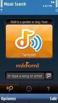 Midomi Search Music