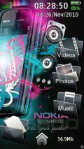 Gdesk 5800 Nokia Pink v2