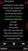 Update Music Player V15.2 Of , 5530, 5800 And X6 To Show Lyrics