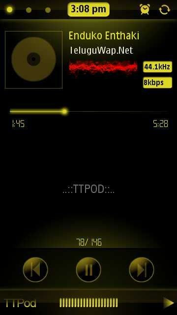Xperia Skin Ttpod Android